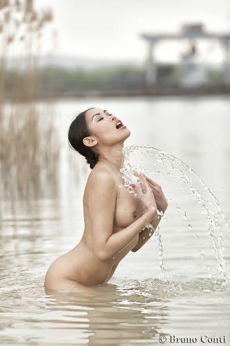 Danika on the lake