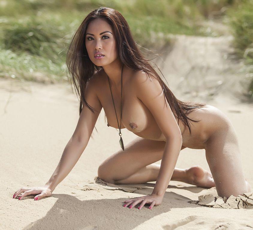 Danika on the beach